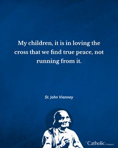 Happy feast day of St. John Vianney! Suffering is never meaningless; it is intended to help us prepare for heaven. ⠀ ⠀ St. John Vianney taught about suffering and emphasized the great worth it has for Christians. ⠀ ⠀ Search St. John Vianney at CatholicCompany.com to see our collection. #feastdays #saint #catholic Happy Feast Day, John Vianney, Frame Of Mind, Patron Saints, Faith Quotes, Christians, My Children, Catholic, Heaven