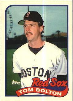 1989 Boston Red Sox Topps Tiffany Baseball Card #269 Tom Bolton