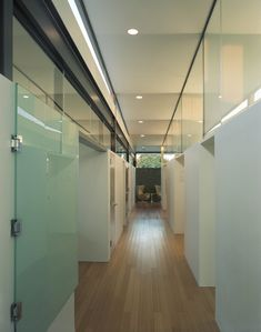 Clerestory windows hallway