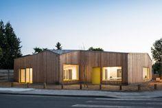 Community centre Sardine by Gayet-Roger Architects