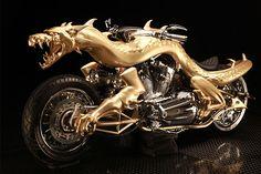 Orange County Choppers #OCC #Dragon Bike