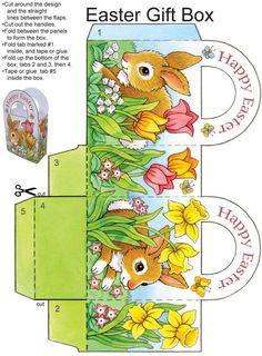 "Easy Easter Tabletop Crafts: 12 ""Eggscellent"" Cut & Make Decorations - Pesquisa Google"