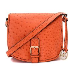 Find Michael Kors Medium Ostrich Embossed Saddle Bag Messenger Tangerine For Fall online or in pumacreepers. Shop Top Brands and the latest styles Michael Kors Medium Ostrich Embossed Saddle Bag Messenger Tangerine For Fall of at Christianl Michael Kors Clutch, Cheap Michael Kors, Michael Kors Shoulder Bag, Michael Kors Outlet, Handbags Michael Kors, Shoulder Bags, Shoulder Strap, Mk Handbags, Handbags On Sale