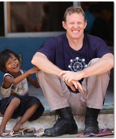 """Scott Neeson gave up wealth and privilege to establish the Cambodian Children's Fund.  Loved the episode on """"Australian Story""""."""
