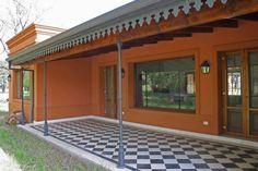 Pergola Against House Referral: 3977855132 Hot Tub Pergola, Curved Pergola, Backyard Pergola, Pergola Plans, Garage Pergola, Floor Design, House Design, Steel Frame Construction, Stucco Homes