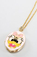 The Disney Couture Jewelry X Dr. Romanelli Daisy Duck Necklace