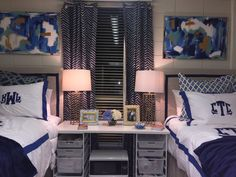 Miller Hall, LSU Dorm Room Styles, Dorm Room Designs, Bedroom Styles, College Dorm Rooms, College Hacks, Dorm Life, College Life, Dorm Layout, Dorm Room Necessities