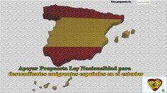 Derechos descendientes emigrantes, Voto en contra a Moción Nacionalidad Congreso. Argumentos q usó en su intervención Cristina Ayala y la legislación actual