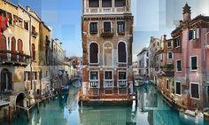 City Collagen im Photo-Puzzle-Style von Pep Ventosa