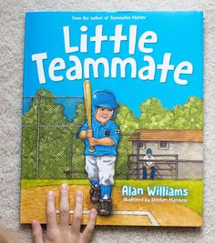 I shared this heartwarming children's book on the blog today. It's the perfect picture book to give to children who are just starting out in sports with a message about what's most important when playing a game.  Well this is exciting we are giving away 15 copies tonight to one DoSayGive reader! Meaning if you win you can gift a copy to your child's entire t-ball soccer or baseball team!! To enter just tag a friend below. The more tags the more entries you get! This ends tomorrow at 9 CST…