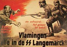 1943 Vlamingen, alle in die SS Langemarck!