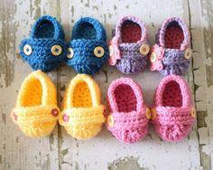 Zapatos de bebe.