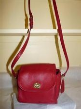 """Coach Vintage Emmie -- made in the USA. This bag is so cute! It's just a little cube about 7""""x7"""". I just love it!"""