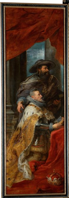 RUBENS, Peter Paul Flemish Baroque Era (1577-1640)_Altarpiece of St Ildefonso after 1639 Left Panel
