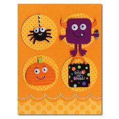 Ask Robin – HM Halloween Pumpkin Spider Monster Card