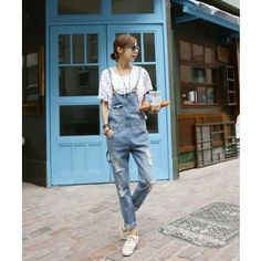 Buy 'DANI LOVE – Denim Jumper Pants ' with Free International Shipping at YesStyle.com. Browse and shop for thousands of Asian fashion items from South Korea and more! Jumper Pants, Jean Jumper, Denim Jumper, Asian Fashion, South Korea, Overalls, Jeans, Clothing, Stuff To Buy