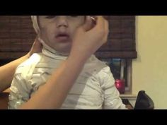 Halloween: Cutest Kids Mummy Costume Ever Tutorial- Astrid