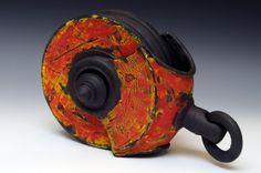 Gallery of sculptural works in ceramic/clay by artist Steven M Allen