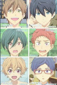Otaku, Rei Ryugazaki, Makoto, Free Gas, Splash Free, Free Eternal Summer, Makoharu, Free Iwatobi Swim Club, Kawaii