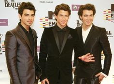 The Jonas Brothers! I wish they would make a come back! Love them