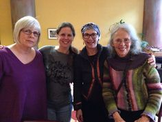 L to R: Gloria Lemay, Jodi Hall, Rivka Cymbalist, Ina May Gaskin Ina May Gaskin, Health And Wellbeing, Conference, Birth, Memories, Souvenirs, Remember This