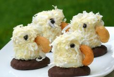 eagle cupcakes... for Dan's eagle ceremony!! :D