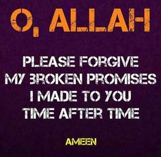 Ameen! Allah ♡ you