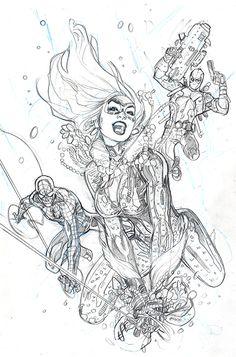 Amazing Spider-Man #1 Variant Cover Pencil by TerryDodson.deviantart.com on @deviantART