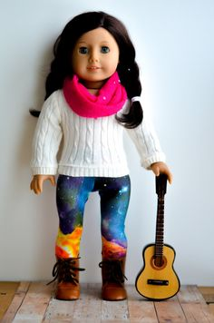 Pink Sequin Amy Infinity Scarf for American Girl or other 18 inch Dolls on Etsy, $6.50
