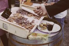 buffet libre service comme au marché