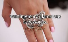 So true. Especially rings. I have come to love rings :P