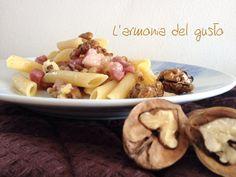 Penne+noci+e+pancetta