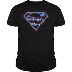 Tennessee Titans Superman Logo Shirt