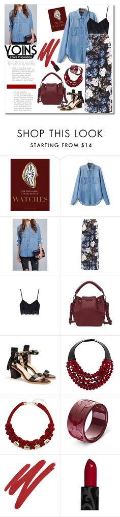 """""""Yoins contest - Win Yoins shirt"""" by andrea2andare ❤ liked on Polyvore featuring Assouline Publishing, Fairchild Baldwin, Topshop, NARS Cosmetics and yoins"""