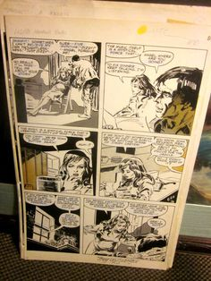 Lilith Horror TONY DEZUNIGA signed Original Comic Art: Marvel Preview 14 Pg 45