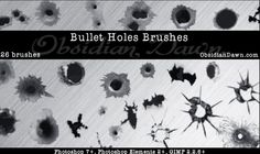 200+ Photoshop Texture Brushes for Designers