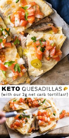 Gluten Free & Keto Quesadillas (with our famous Tortill .) Gluten free & keto quesadillas (with our famous tortillas!) free … – Gluten Free & Keto Quesadillas (With our famous Tortillas! Ketogenic Recipes, Low Carb Recipes, Diet Recipes, Healthy Recipes, No Carb Dinner Recipes, Slimfast Recipes, Yogurt Recipes, Snacks Recipes, Shrimp Recipes