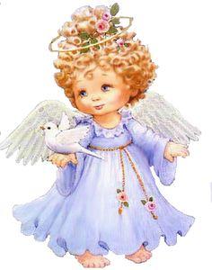imagenes de angeles muy tiernas MI PEQUEO RINCONCITO