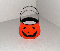 Customized Pumpkin Ceramic Candle by AllThatTeases on Etsy, $20.00