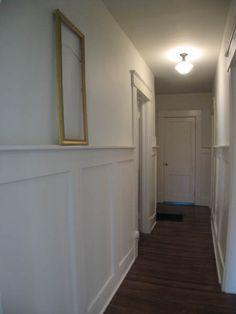 bungalow center hallway
