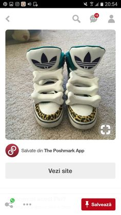 timeless design cc248 b0377 Adidas x Jeremy Scott bone sneakers They were released in worn outside less  than 5 times. Very cute and stylish Jeremy Scott x Adidas Shoes Sneakers