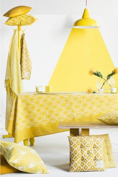 Juicy Yellow Colour Theory | H&M Home