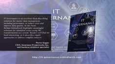 """Stay up-to-date with the with the book """"IT Governance - How to Reduce Costs and Improve Data Quality through the Implementation of IT Governance"""" Customer Demographics, Master Data Management, Data Quality, This Book, Cards Against Humanity, Books, Libros, Book, Book Illustrations"""