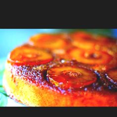 Best pinapple upside down cake ever! Worth the wait!  http://simplyrecipes.com/recipes/pineapple_upside_down_cake/