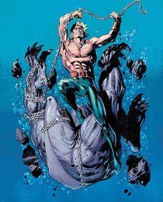 Aquaman vs King shark