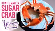 NEW Yeners Cake Tip! -How to Make a SUGAR CRAB Tutorial - https://www.youtube.com/watch?v=amRsuJAhc70
