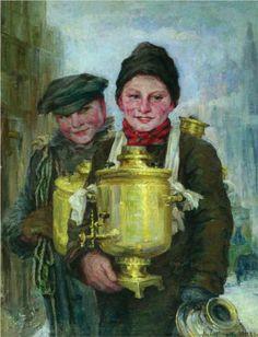 Sbitenshchiks - Nikolay Bogdanov-Belsky