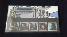 Royal mail stamps British Films stamp presentation pack No 165 by brianspastimes on Etsy