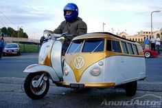 VW Van Scooter