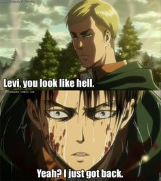 And now Erwin is going there!